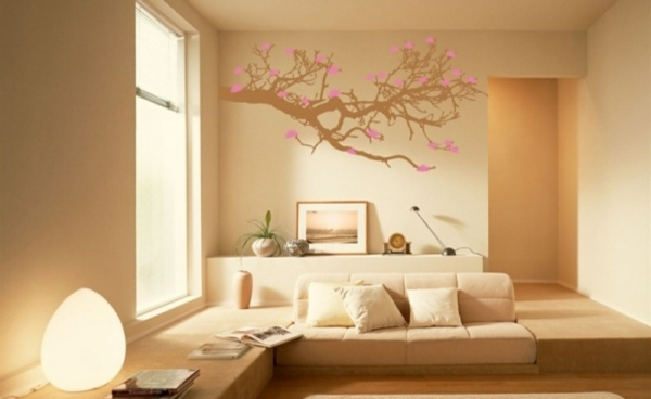 Wohnzimmer Farben Design