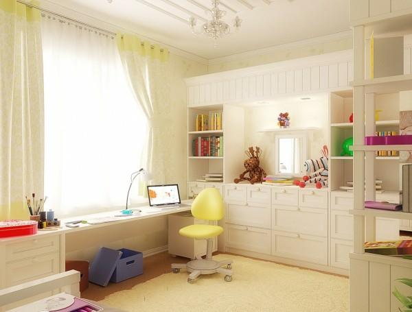 farbpalette wandfarben weiß gelb wandfarbe kinderzimmer gestalten