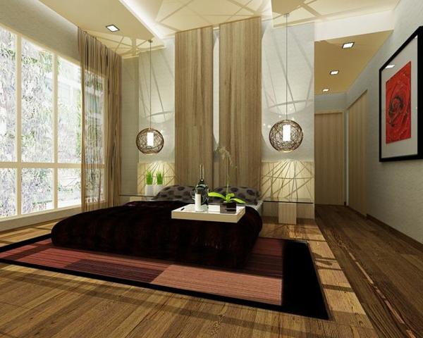 Feng Shui Schlafzimmer Einrichten Asiatischer Stil Zimmerpflanzen