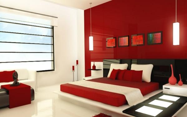 Feng Shui Schlafzimmer Einrichten Farben Rot Feng Shui Bett
