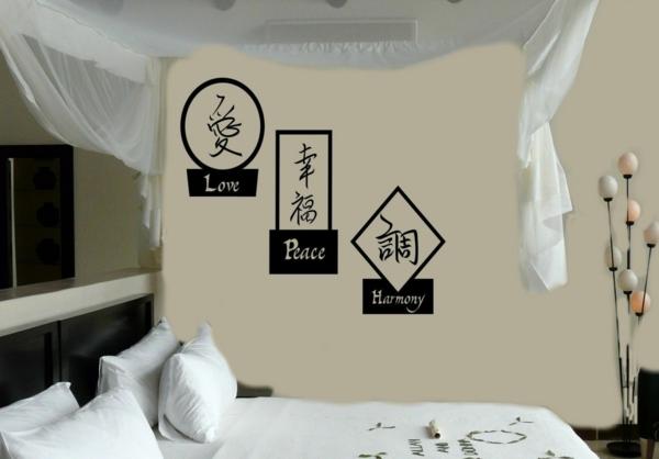 feng shui bett schlafzimmer wandgestaltung feng shui regeln
