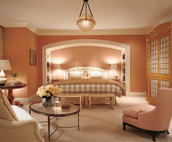 Feng shui schlafzimmer einrichten was sollten sie dabei beachten - Altrosa schlafzimmer ...