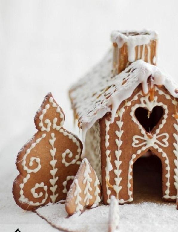 festliche tischdeko weihnachten Weihnachtsplätzchen gebäck