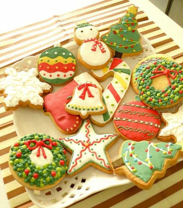 festliche tischdeko weihnachten die besten Weihnachtsplätzchen lecker