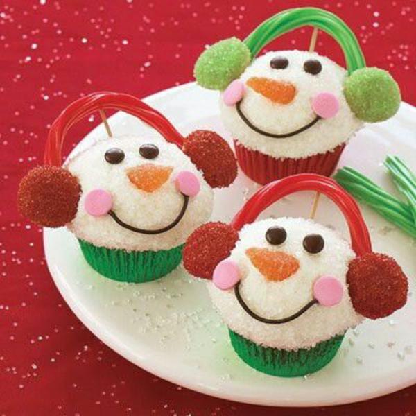 festliche tischdeko weihnachten die besten Weihnachtsplätzchen schneemann
