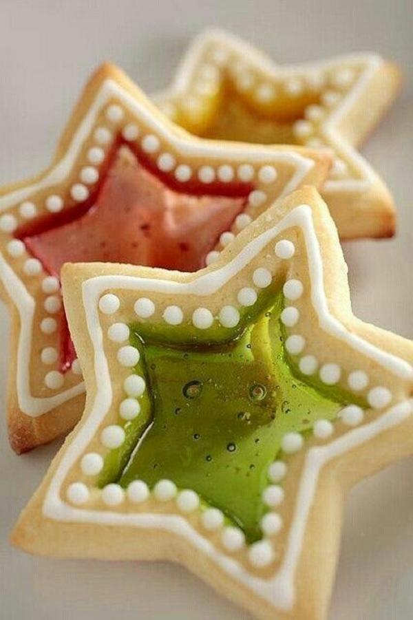 tischdeko weihnachten besten Weihnachtsplätzchen sterne