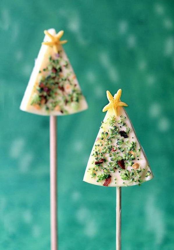 festliche tischdeko weihnachten besten Weihnachtsplätzchen tannenbaum