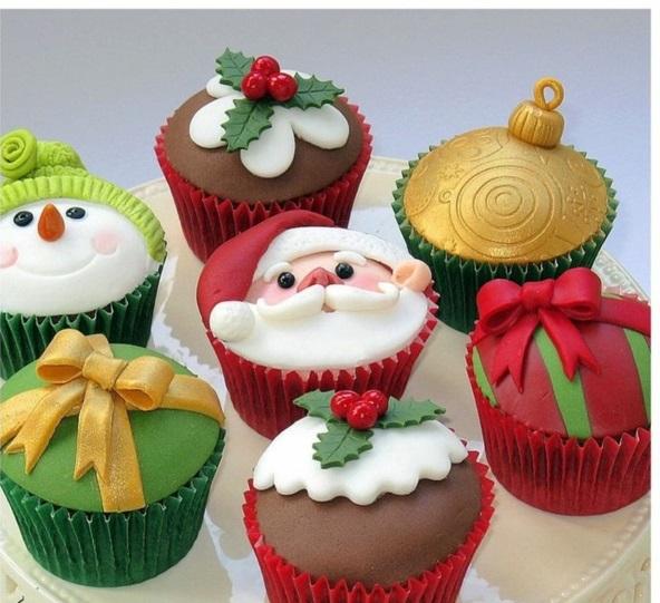 festliche weihnachten einfache plätzchen backen farben
