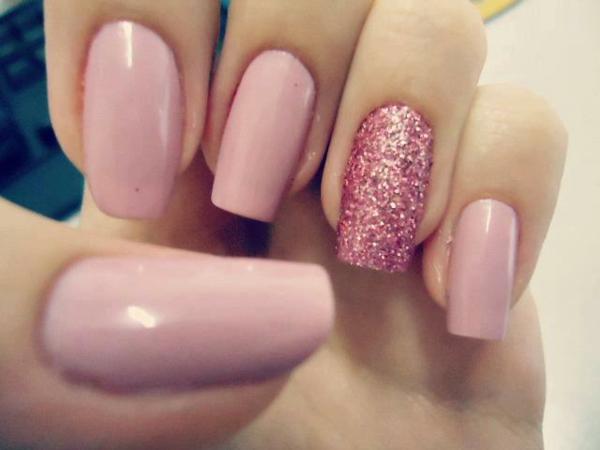 fingernägel bilder schlichte nägel rosa schlichte nägel