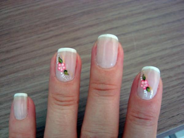 fingernägel bilder schlichte nägel weiß french nägel bilder