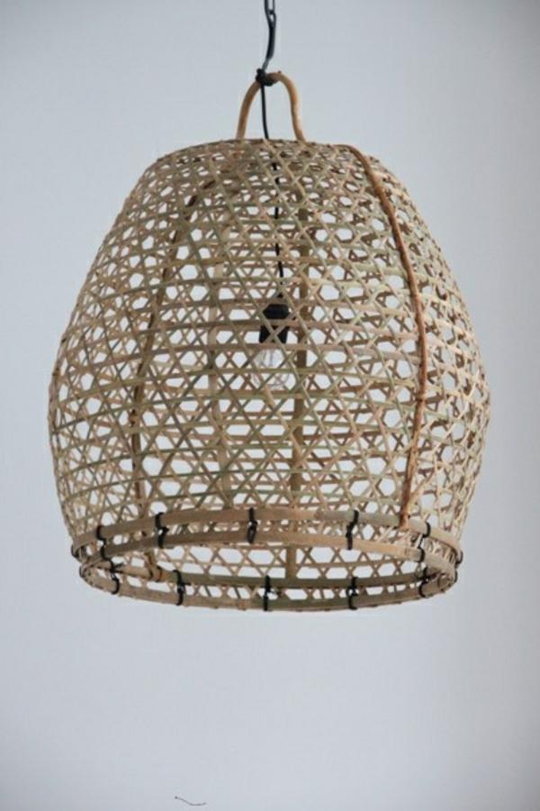 flechtmöbel rattan lounge möbel pendelleuchten lampenschirm