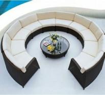 Gartenstühle rattan rund  Rattanmöbel im Innenbereich- welche sind die Vorteile der Flechtmöbel?