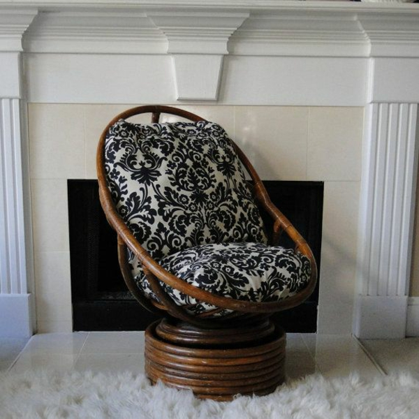flechtmöbel sessel rattan lounge möbel wintergartenmöbel