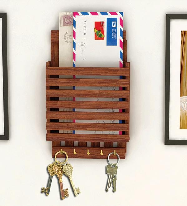 flurgestaltenflurmöbelholzregaleschlüsselaufhängenjpg