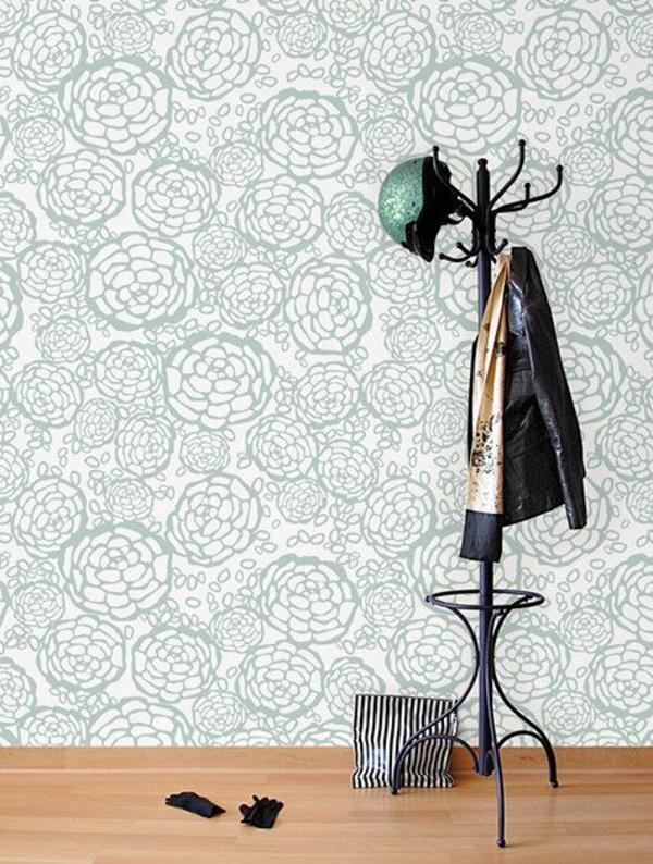 Mustertapeten Richtig Tapezieren : Designer Mustertapeten f?r eine kreative Wandgestaltung finden Sie