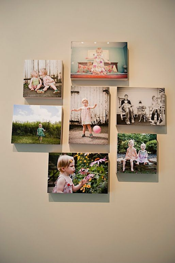 Wall Decor Placement Ideas : Fotocollagen erstellen fotos auf leinwand selber machen