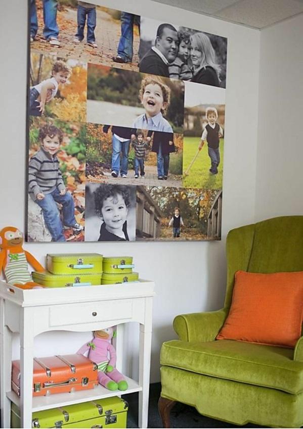 fotocollage selbst gemacht diy selber machen geschwister. Black Bedroom Furniture Sets. Home Design Ideas