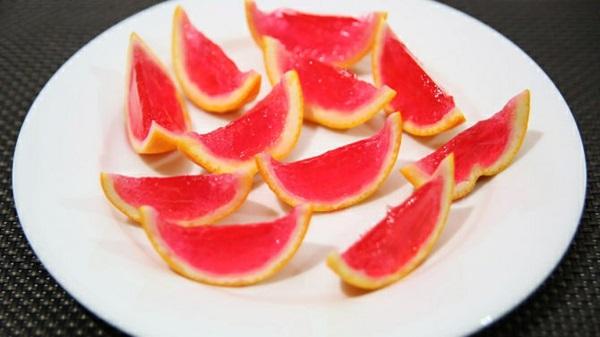 frische Orangen und Wassermelonen grapefruit