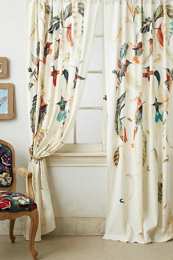gardinen dekorationsvorschl ge tipps und bilder f r ihr. Black Bedroom Furniture Sets. Home Design Ideas