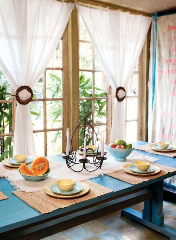 gardinen dekorationsvorschl ge. Black Bedroom Furniture Sets. Home Design Ideas