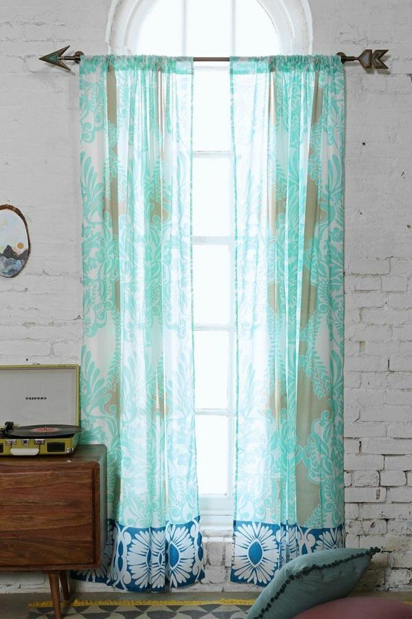 Gardinen dekorationsvorschl ge tipps und bilder f r ihr for Retro gardinen