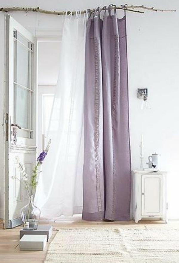 gardinen grau lila hcvc. Black Bedroom Furniture Sets. Home Design Ideas