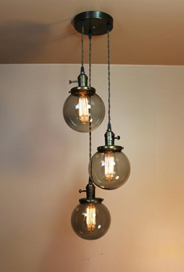 40 Glaskugel Lampen