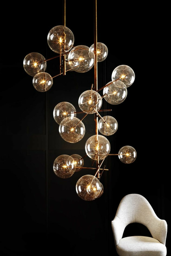 40 glaskugel lampen. Black Bedroom Furniture Sets. Home Design Ideas