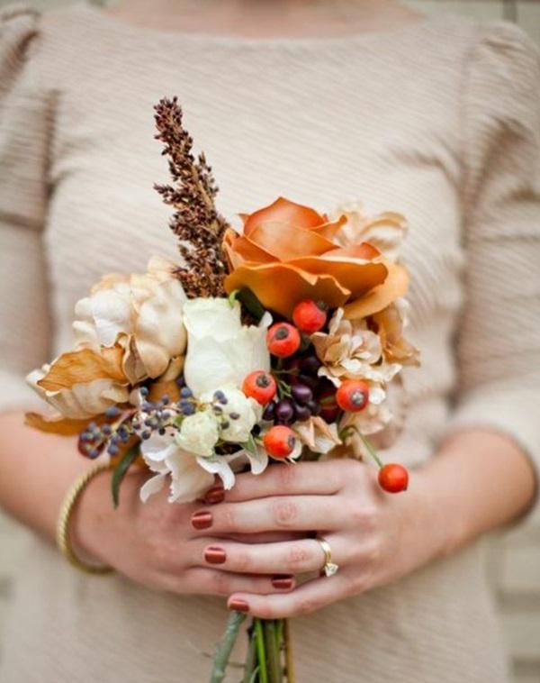 Hochzeit Blumen Herbst