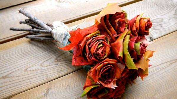 70 herbstblumen als dekorative blumenarrangements. Black Bedroom Furniture Sets. Home Design Ideas