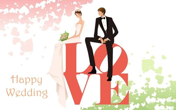 hochzeitswünsche love braut bräutigam