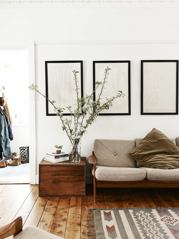 wohnzimmer holzboden: einrichtung wohnzimmer rustikal einrichten wohnzimmermöbel holzboden
