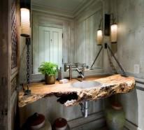 Holz Im Bad holz im badezimmer landhausstil im bad für entspannende atmosphäre
