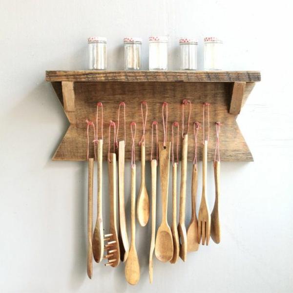 Moderne Küchenutensilien: Holzregal Bauen Oder Einfach Kaufen
