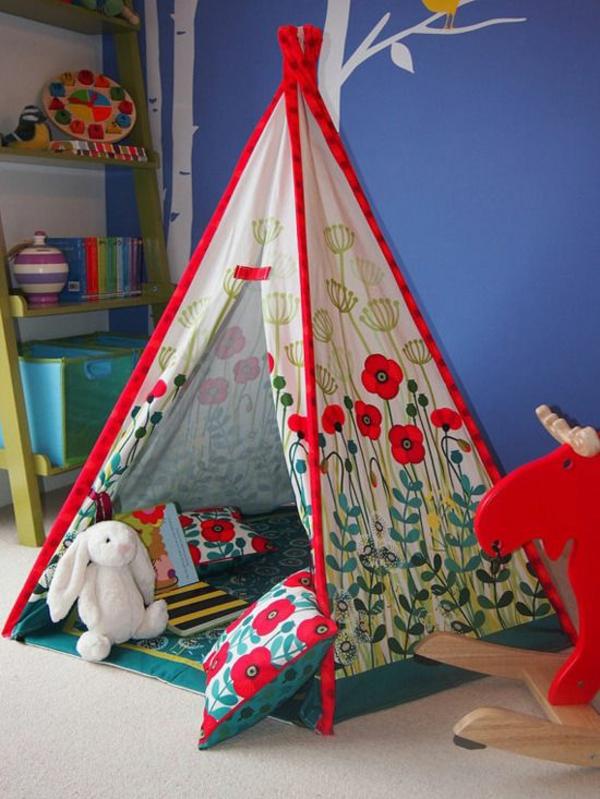 Kinderzimmer Blau Rot kinderzimmer cars zimmer Kinderzimmer Gestaltung Blaue Wand Rote Kanten