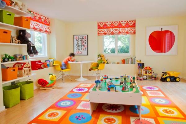 Gut Idee Kinderzimmer Gestaltung Bunt Grell