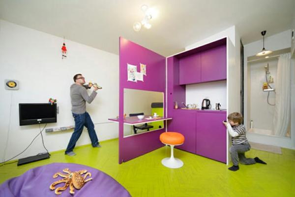 Kinderzimmer Gestaltung Idee : Kinderzimmer Gestaltung in Trendfarbe Lila