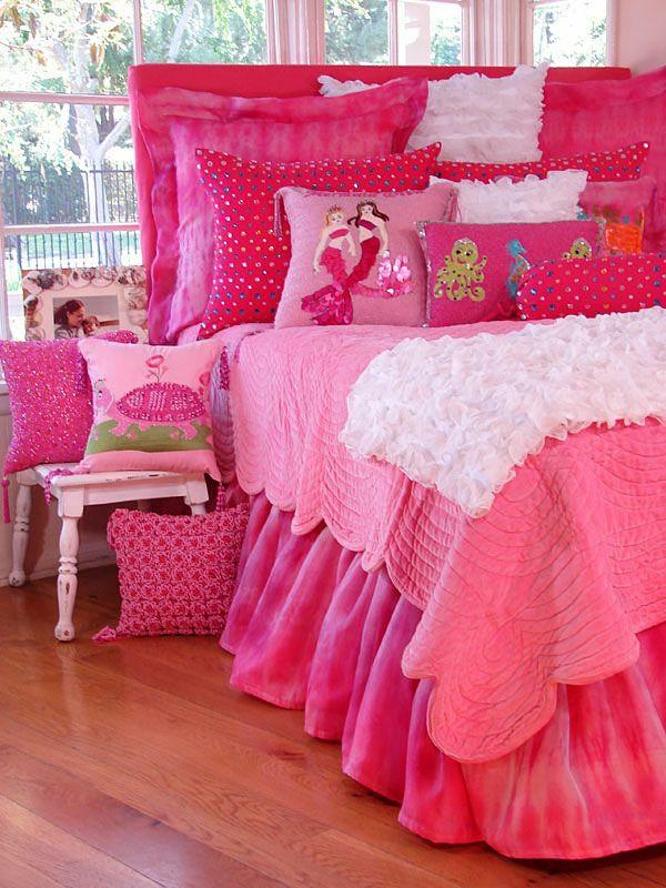 kinderzimmer gestaltung pink