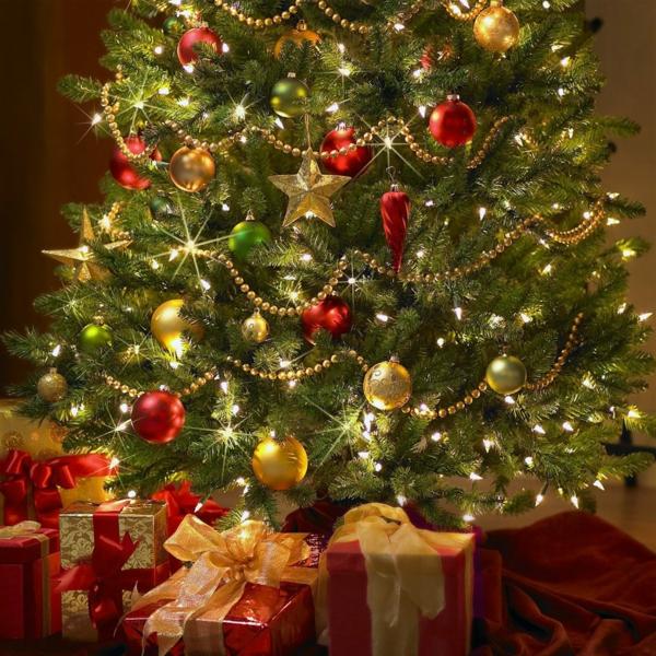 ideen für weihnachtsgeschenke christbaum