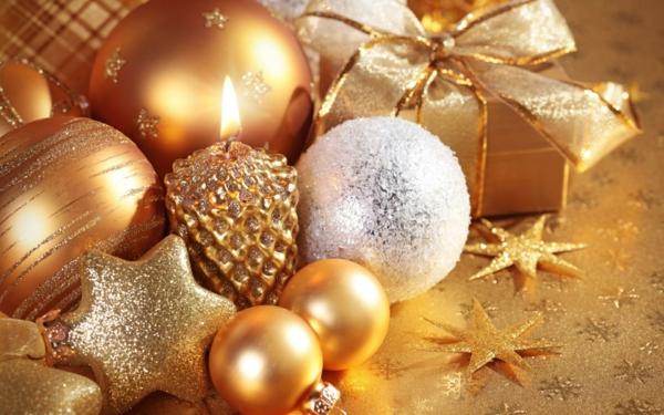 ideen für weihnachtsgeschenke kerze sterne