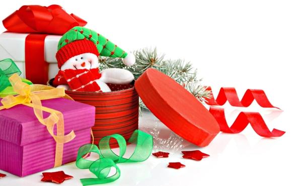 ideen für weihnachtsgeschenke schneemann