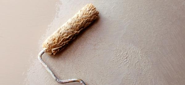 innenwände verputzen wandgestaltung ideen walze streichputz auftragen