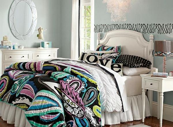 jugendlich schlafzimmer dekor   möbelideen, Schlafzimmer design