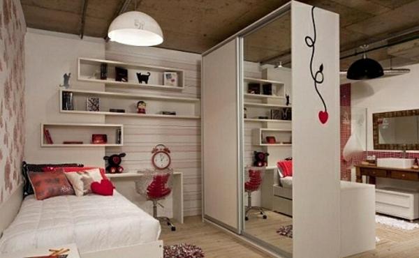 Schlafzimmer ohne schrank gestalten ~ Dayoop.com