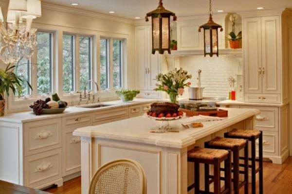 90 moderne Küchen mit Kochinsel ausgestattet | {Küchenblock freistehend rustikal 33}