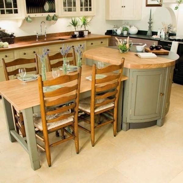 küche mit kochinsel funktionale ideen für den essbereich