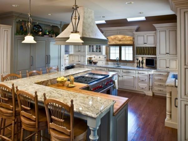 Küche Mit Kochinsel Funktionale Lösung Für Den Modernen Kochbereich
