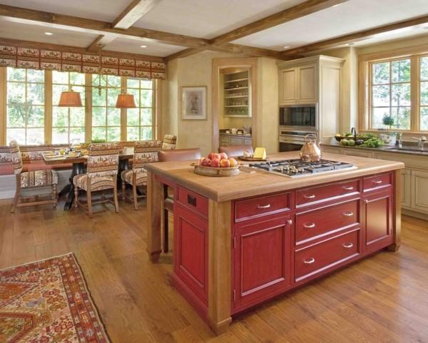 küche mit kochinsel mit tollem design uns viel stauraum