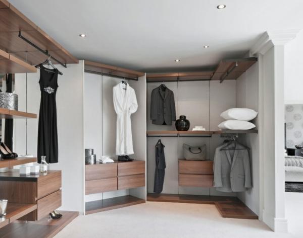 Begehbarer kleiderschrank system deko selber machen for Kleiderschrank offen selber bauen