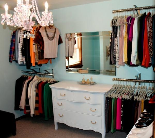 Kleiderschrank Offen Selber Bauen | Die schönsten Einrichtungsideen